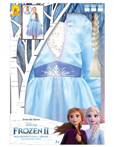 Caixa presente disfarce e trança Elsa Frozen 2™-4