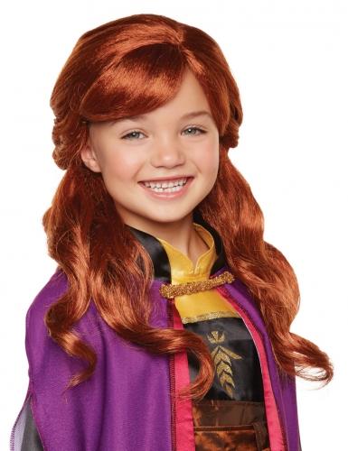 Peruca luxo Anna Frozen 2™ menina
