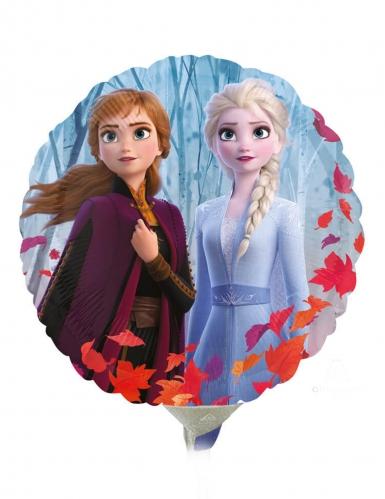 Pequeno balão alumínio redondo Frozen 2™ 23 cm