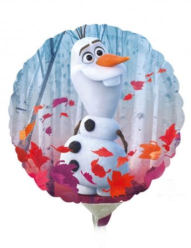 Pequeno balão alumínio redondo Frozen 2™ 23 cm-1