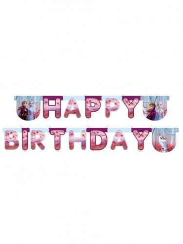 Grinalda Happy Birthday Frozen 2™ 200 x 16 cm