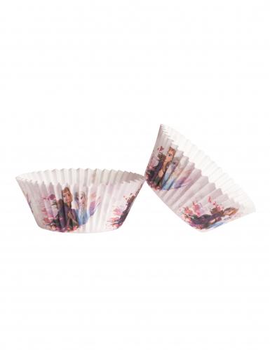 25 Formas de cupcake em papel Frozen™ 5 x 3 cm