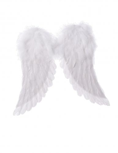 Asas de anjo brancas 42 x 46 cm