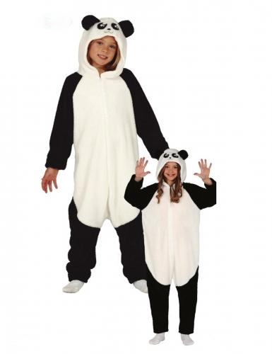Disfarce macacão panda criança