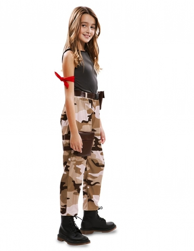 Disfarce soldado menina-1