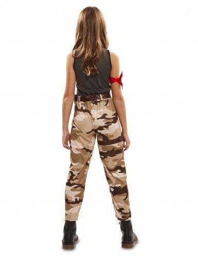 Disfarce soldado menina-2
