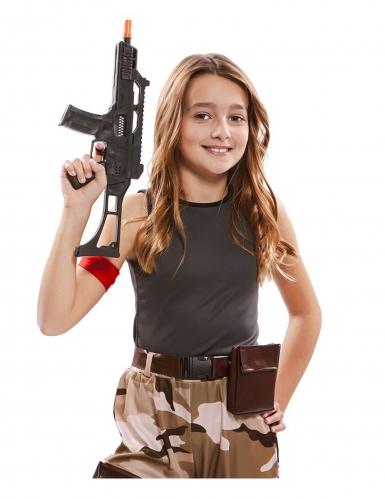 Disfarce soldado menina-3