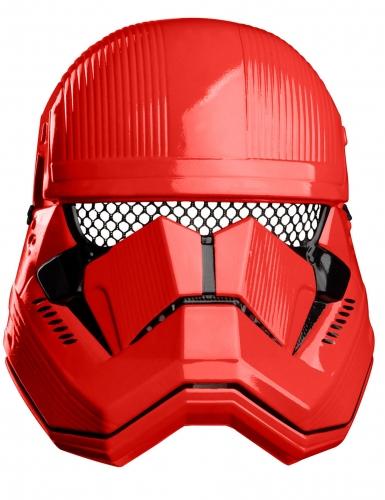 Máscara vermelha Sith Trooper™ criança
