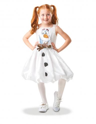 Disfarce Olaf animado Frozen 2™ luxo menina