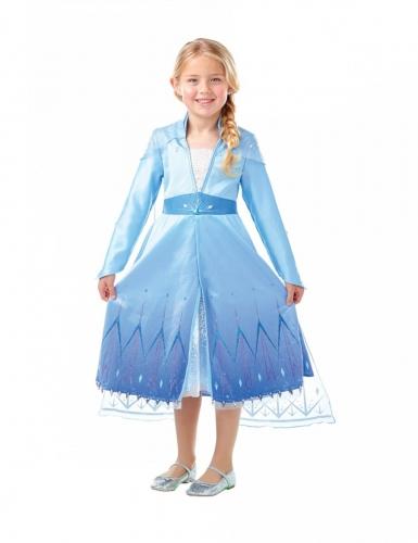 Disfarce premium Elsa Frozen 2™ menina-2