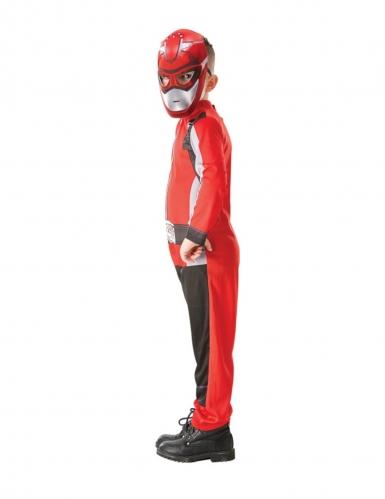 Disfarce clássico Power Rangers™ vermelho criança-1