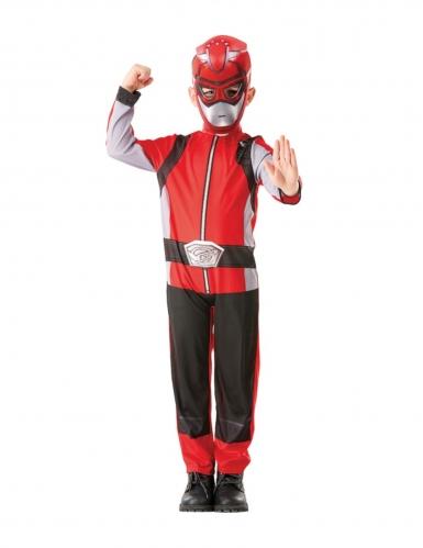 Disfarce clássico Power Rangers™ vermelho criança-3