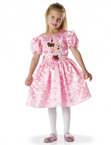 Disfarce clássico vestido Minnie™ rosa menina