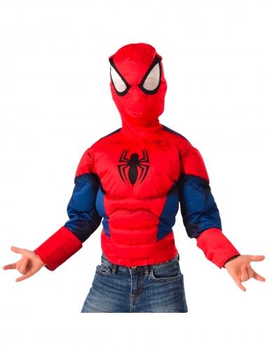 Top e carapuço luxo Spiderman™ criança