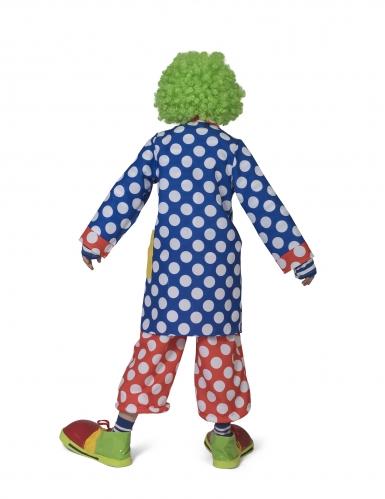 Casaco palhaço padrão às bolas criança -1