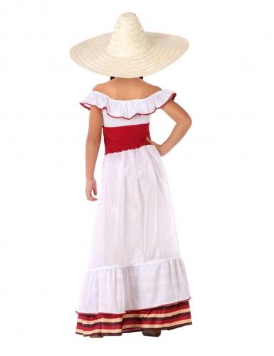 Disfarce mulher Mexicana menina-2