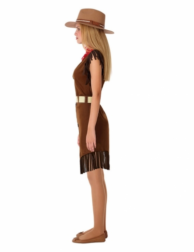Disfarce cowgirl adolescente-1