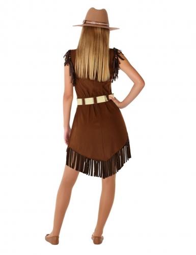 Disfarce cowgirl adolescente-2