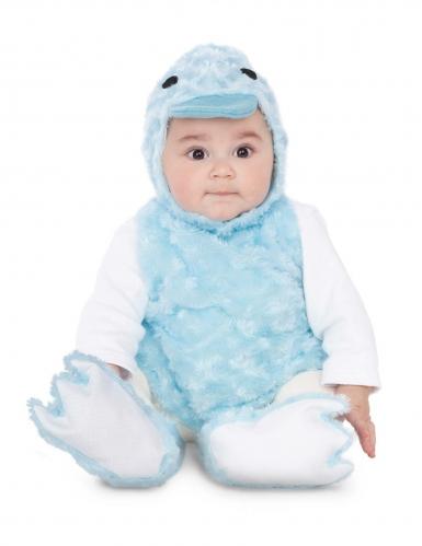 Disfarce patinho azul pelúcia bebé