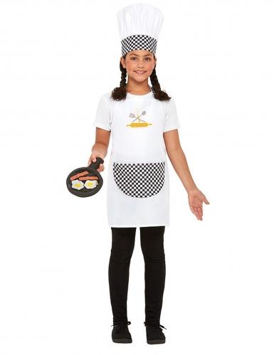 Kit cozinheiro branco criança-1