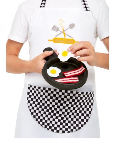 Kit cozinheiro branco criança-2