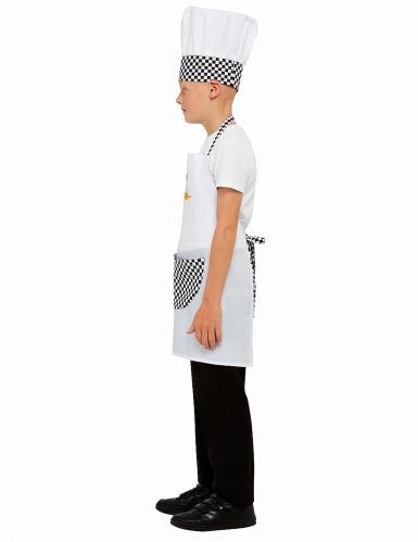 Kit cozinheiro branco criança-3