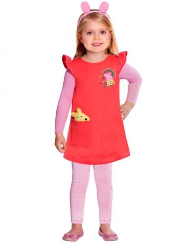 Disfarce vestido porca Peppa  Pig™ menina