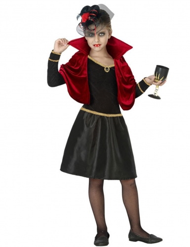 Disfarce vampira glamorosa menina