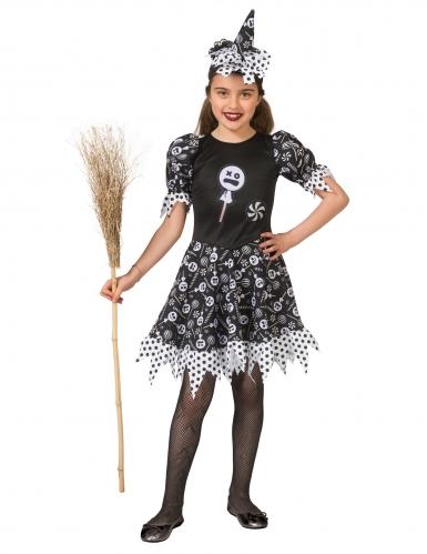 Disfarce bruxa candy menina-2