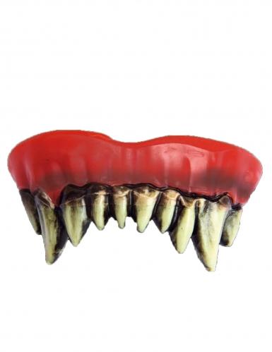 Dentadura palhaço de terror adulto