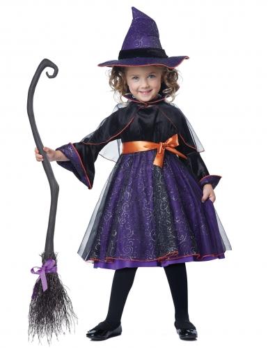 Disfarce bruxa abracadabra menina