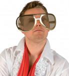 Óculos gigantes de estrela do rock