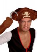 Kit gancho de pirata adulto