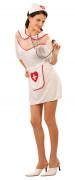 Disfarce de enfermeira sexy mulher