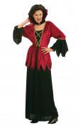 Disfarce de Halloween de vampira para mulher