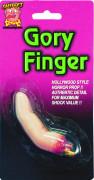 Falso dedo arrancado