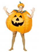 Disfarce de abóbora insuflável adulto Halloween