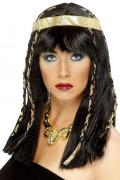 Peruca egípcia mulher