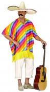 Poncho mexicano para adulto