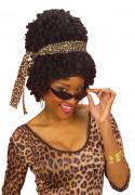 Peruca afro-americana para mulher