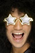 Óculos com estrelas superstar