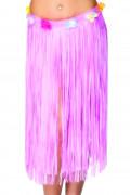 Saia cor-de-rosa Havai para adulto