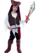 Disfarce de pirata para criança