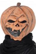 Máscara látex abóbora adulto Halloween