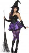 Disfarce bruxa mulher Halloween sexy