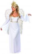 Disfarce de anjo de mulher
