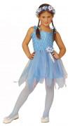 Disfarce de fada bailarina azul menina