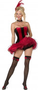 Disfarce cabaret French cancan Mulher