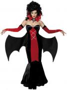 Disfarce de morcego mulher Halloween