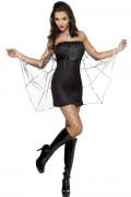 Disfarce aranha mulher Halloween